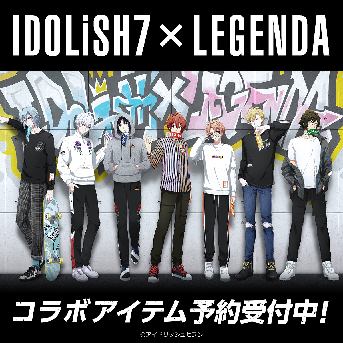 IDOLish7×LEGENDA COLLABORATION